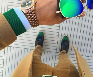 classy, pants, and watch image