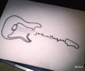 john mayer and guitar image