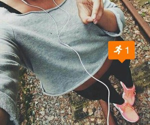 body, nike, and fit image