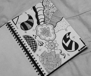 drawing, art, and arte image
