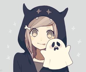 anime, ghost, and kawaii image