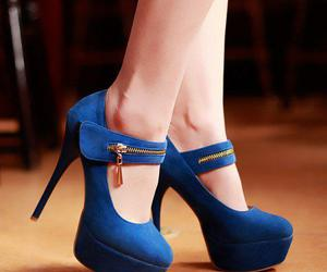 blue, shoes, and azul ♥♥ image