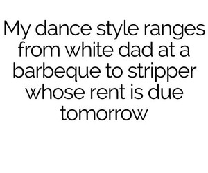 dance, funny, and stripper image