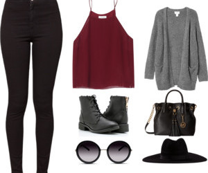 Polyvore and combat ankle boots image