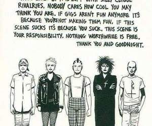 psychobilly, goth, and punk image