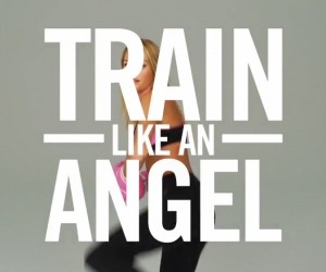 angel, fitness, and train image