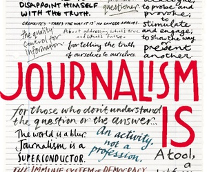 career, journalism, and truth image