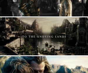 aragorn, arwen, and LOTR image