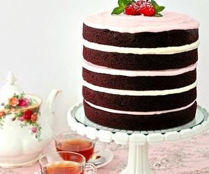 cake, chocolate, and sweets image