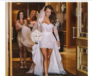 beauty, bride, and girls image