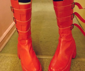 anime, boots, and cosplay image