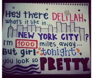 hey there delilah and Lyrics image