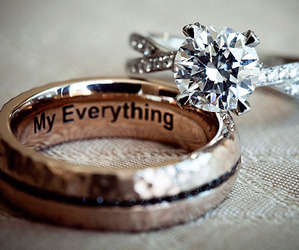 love, ring, and wedding image