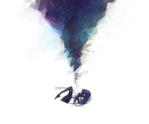anime, art, and stars image