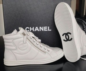 channel, shoes, and tenis image