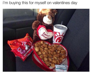 valentines day, funny, and quotes image