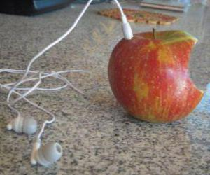 funny, ipod, and appple image