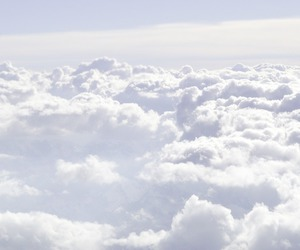 beauiful, blue, and cloud image