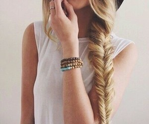 braid, fashion, and hair image