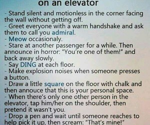 elevator, try, and funny image