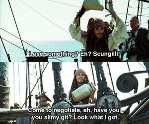 movie, funny, and pirates of the caribbean image