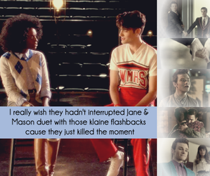 glee, jane, and Mason image