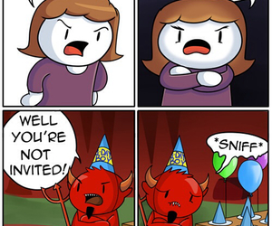Halloween, Devil, and birthday image
