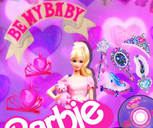 barbie, heart, and kawaii image