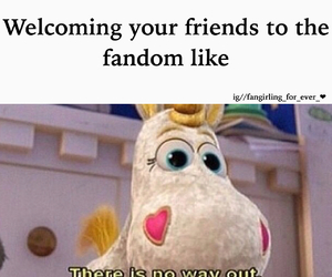 books, fandom, and funny image
