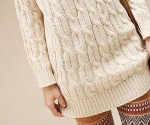 chic, fashion, and winter image