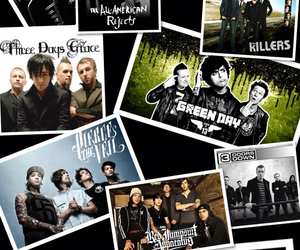 All American Rejects, evanescence, and green day image