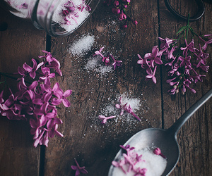 flowers and sugar image