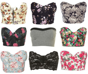 bustier and top image