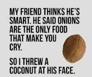 funny, coconut, and friends image