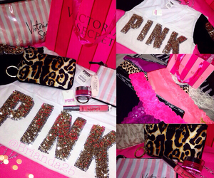 glam, pink, and Victoria's Secret image