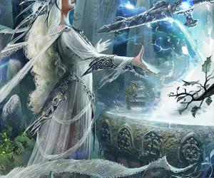 art, fantasy, and magic image