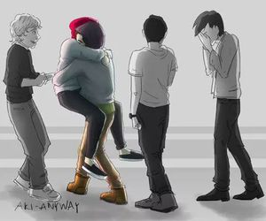 one direction, larry stylinson, and larry image