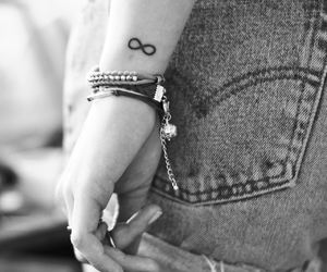 tattoo, infinity, and infinite image