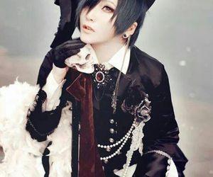 anime cosplay, cute anime boy cosplay, and lolita ciel cosplay image