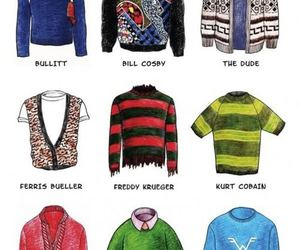 sweater, funny, and famous image