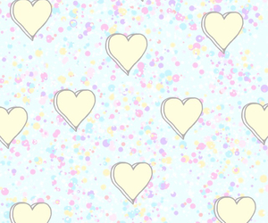 heart, pastel, and wallpaper image