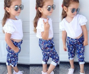 child, girl, and outfit image