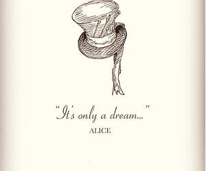 alice, Dream, and alice in wonderland image