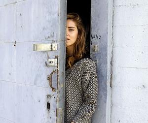 girl, door, and model image