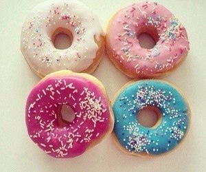 donuts, cute, and yum image