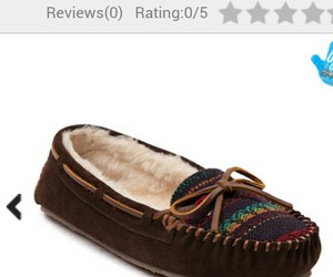 Journeys, moccasin, and aztec print image