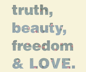 love, beauty, and freedom image