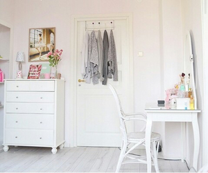 fashion, girly, and room image