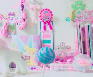 candy, pink, and pony image
