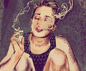 smoke and cigarette image